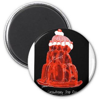 tony fernandes's strawberry jello rat magnet