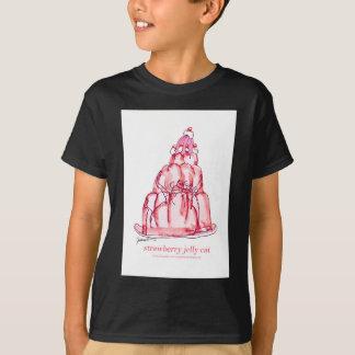 tony fernandes's strawberry jelly cat T-Shirt