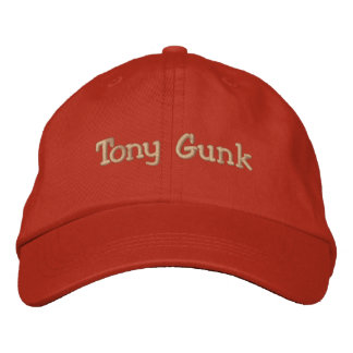 Tony Gunk Embroidered Baseball Hat