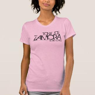 TONY JOE ZAMORA - ROAD to PRO ladies t-shirt