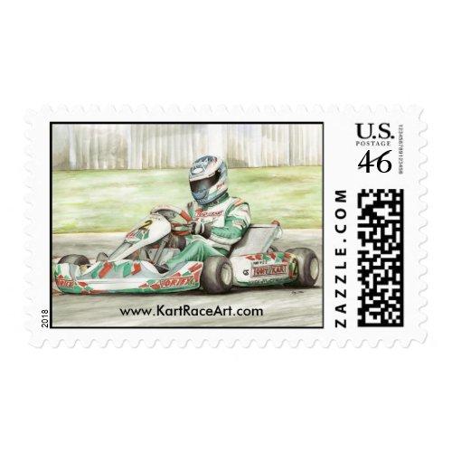 Tony Kart Postage stamp