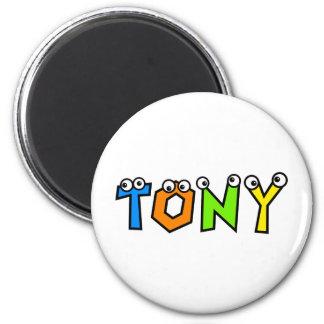 Tony Fridge Magnet