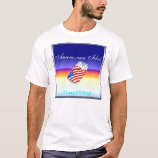 """Tony O'Neill's """"Ameri - can """" T-Shirt"""