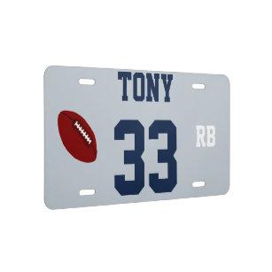 silver plated license plates zazzle