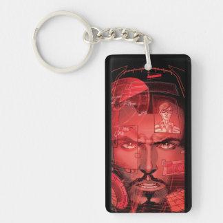 Tony Stark In Iron Man Suit Keychain