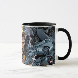 Tony Stark Removing Iron Man Suit Mug