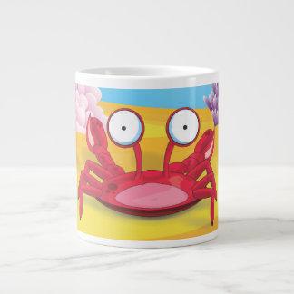 Tony the Crab Giant Coffee Mug