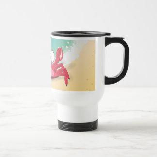 Tony the Crab Travel Mug