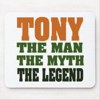 TONY - the Man, the Myth, the Legend Mouse Pad