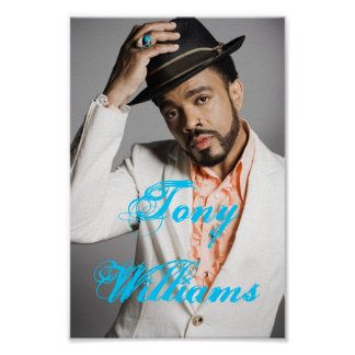 Tony Williams (Poster) Poster