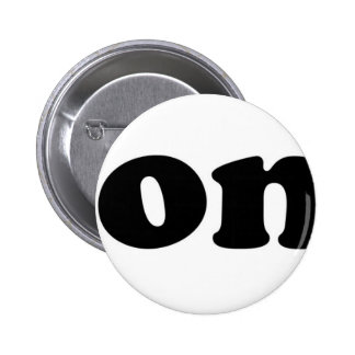Tony with Heart Pinback Button