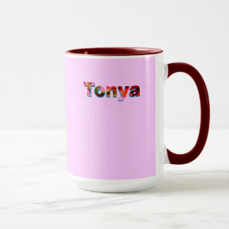Tonya's coffee mug