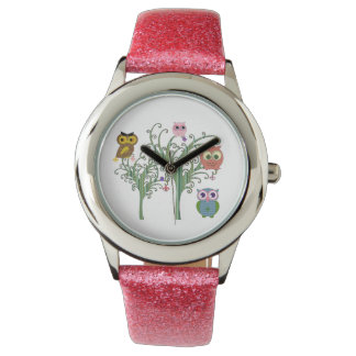 Tonya's Owl Family Children's Watch