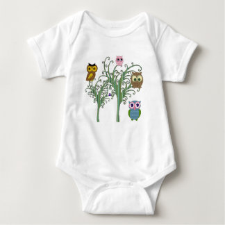 Tonya's Owls Infant Creeper