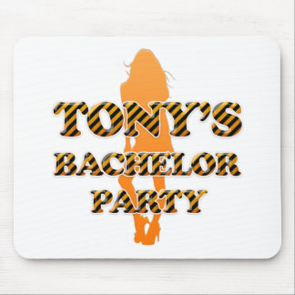 Tony's Bachelor Party Mouse Pad