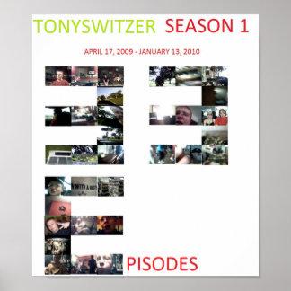 TonySwitzer - Season 1 Poster
