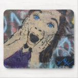 Tonza's Creaming Girl Stencil Mouse Pads