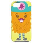 Too adorable orange monster with a hat iPhone 5 cover