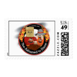 Too Ashamed to Name BBQ - postage stamps