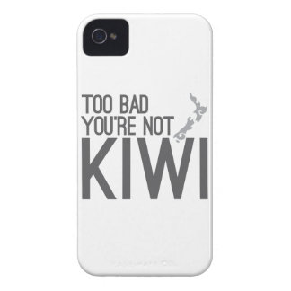 Too bad you're not KIWI (NEW ZEALAND) Case-Mate iPhone 4 Case