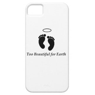Too Beautiful for Earth phone case