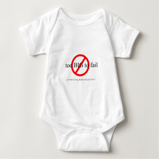 Too Big to Fail Baby Bodysuit