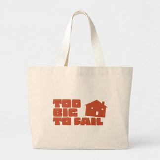 Too Big To Fail Tote Bag