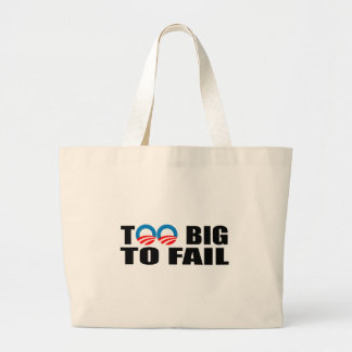 TOO BIG TO FAIL CANVAS BAG