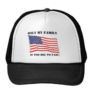 Too big to fail! hats