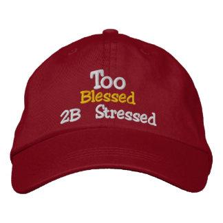 Too Blessed 2B Stressed Adjustable Hat