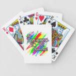 Too Blessed Bicycle Playing Cards