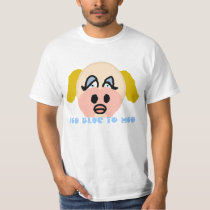 Too Blue to Moo Shirt