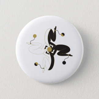 Too Busy Too Dizzy Pinback Button