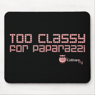 Too Classy For Paparazzi Mouse Pad