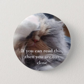 Too close - pin