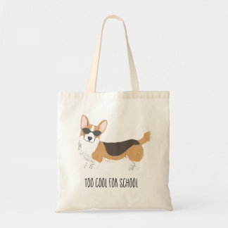 Too Cool Corgi Tote Bag