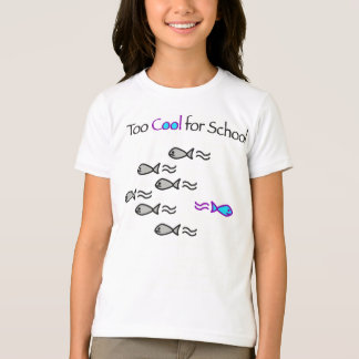Too Cool for School - Fish Kid's Shirt
