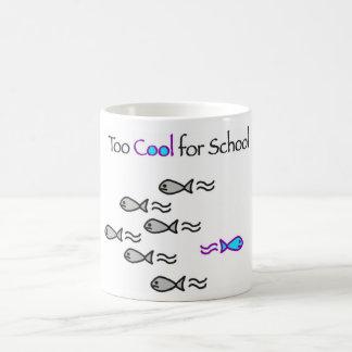 Too Cool for School - Fish Mug