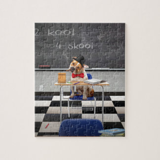 Too cool for school jigsaw puzzle