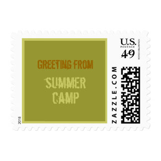 Too Cool Summer Camp Stamp