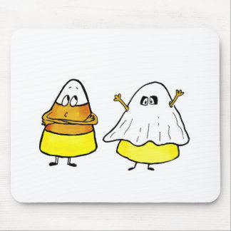 Too cool to be scared Candy Cone Mouse Pad