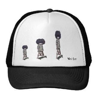 Too Cool to Skateboard Trucker Hat