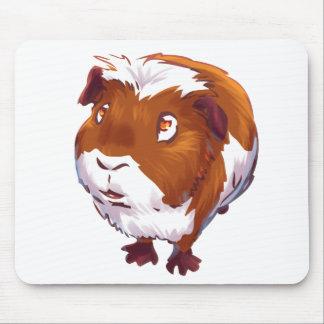 Too Curious Guinea Pig Mouse Pad