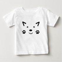 Too Cute Cat Baby T-Shirt