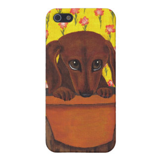 Too Cute Dachshund Case For iPhone SE/5/5s