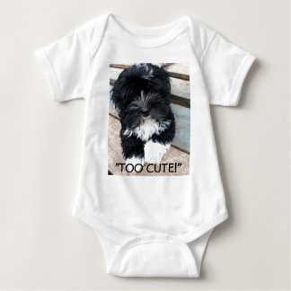 """Too Cute"" infant sleeper by Zoltan Buday T-shirt"