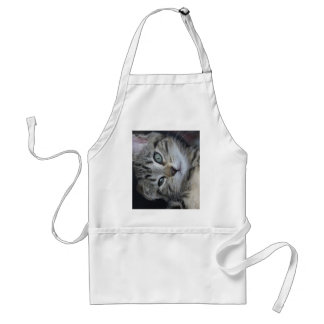 Too Cute Kitty! Adult Apron