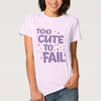 Too Cute Ladies Shirt
