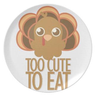 Too Cute Melamine Plate