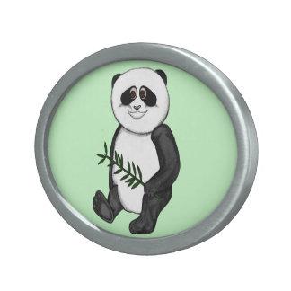 Too Cute Panda Bear Belt Buckle
